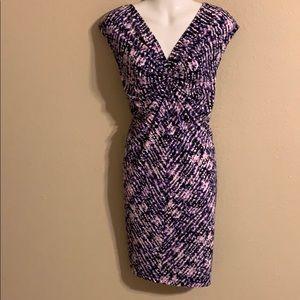 Michael Kors purple dress large